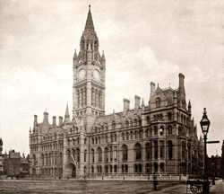 The New Town Hall, Albert Square Front